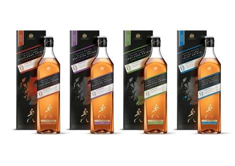 Scotland-Inspired Whisky Series