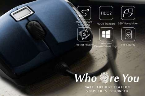 Web Security Fingerprint Mouses