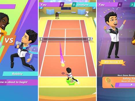 Mobile-First Tennis Games
