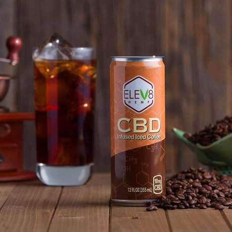 CBD-Infused Iced Coffees