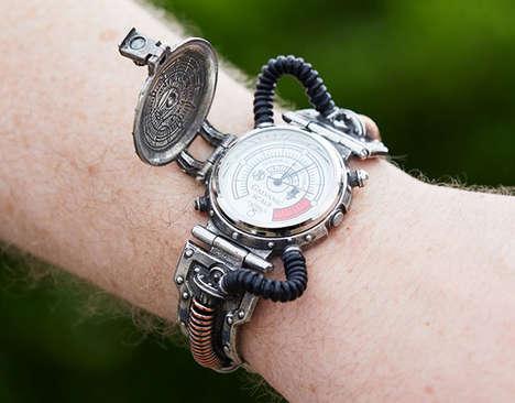Elaborate Steampunk Timepieces