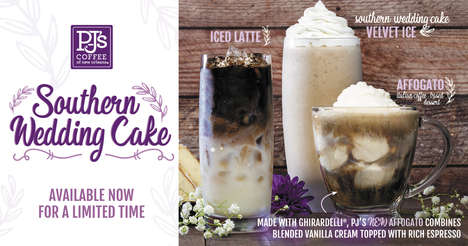 Wedding Cake-Flavored Coffees