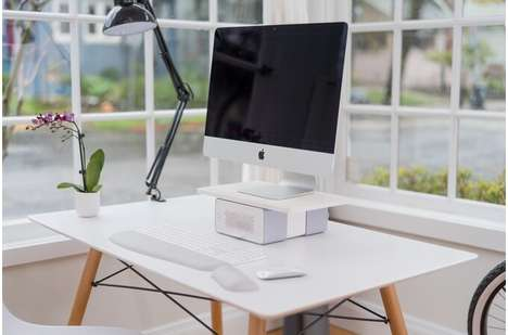Air-Purifying Monitor Stands