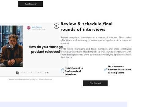 Automated Job Interview Platforms