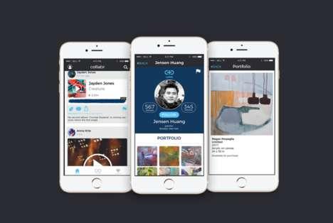 Artist-Centric Social Apps