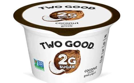 Reduced Sugar Greek Yogurts