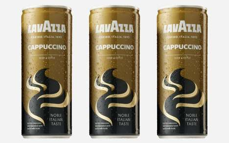 Canned Italian Cold Cappuccinos