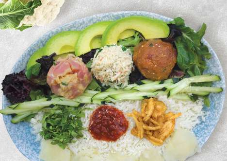 Cauliflower Rice Poke Bowls