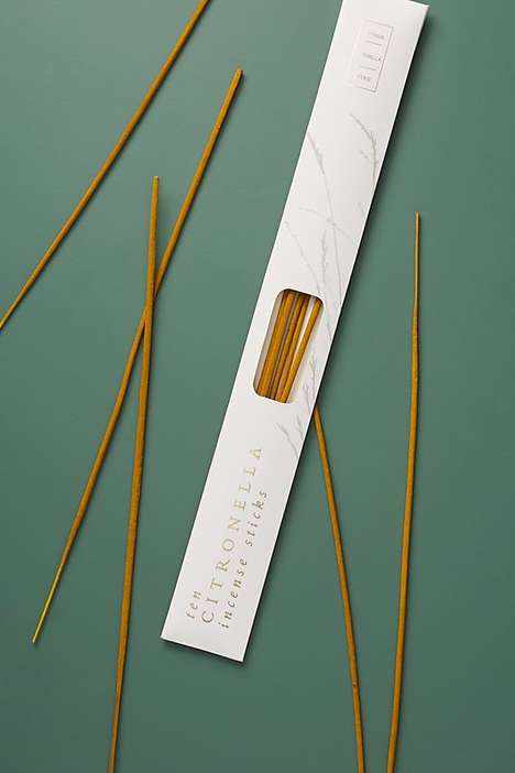 Insect-Repelling Incense Sticks