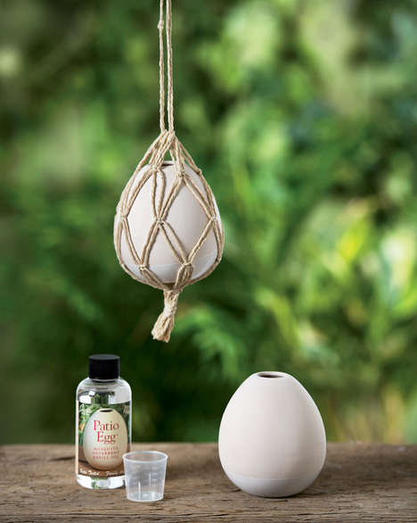 Egg-Shaped Bug Repellent Accessories