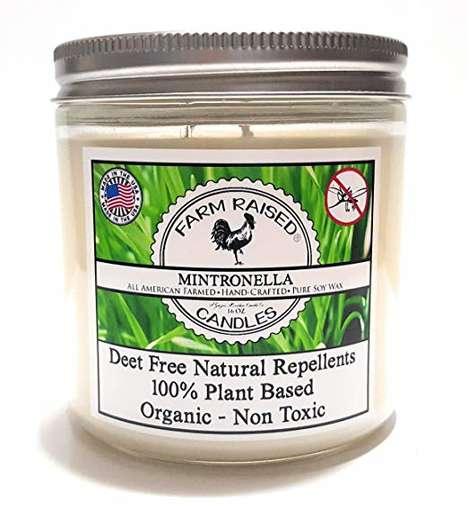 Essential Oil Natural Candles