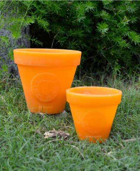 Citronella Candle Flower Pots