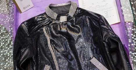 Luxurious Diamond-Embroidered Jackets
