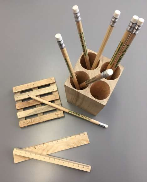 Recycled Wood Pencils