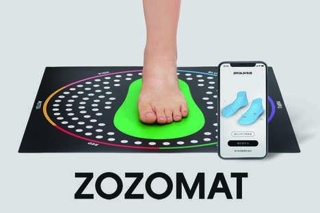 3D Shoe-Size Measuring Apps
