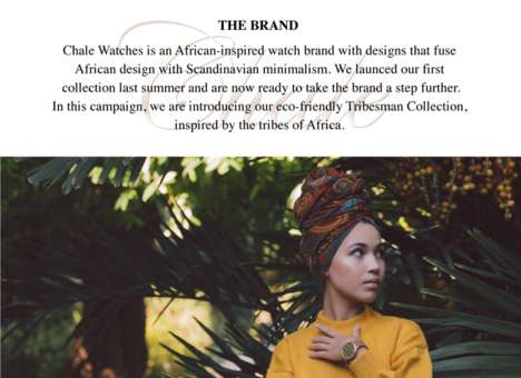 African-Inspired Eco Watches