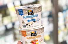 Almond-Based Yogurt Alternatives