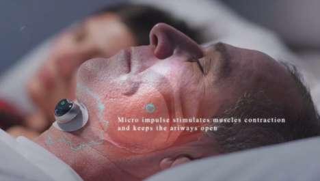 Smart Anti-Snoring Muscle Simulators