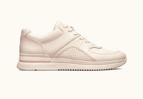 Eco-Friendly Leather Sneakers