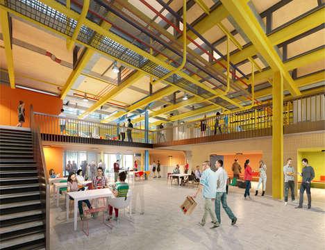 Repurposed Adaptable University Buildings