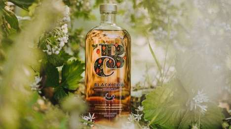 Eco-Conscious Strawberry Vodkas