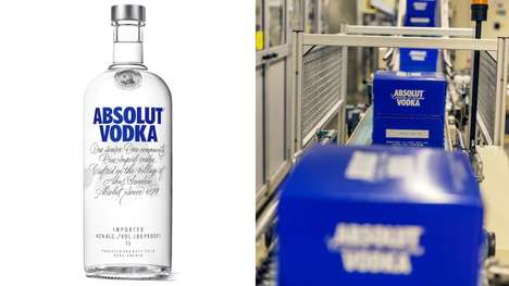 Vodka Brand Eco Initiatives