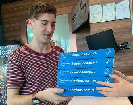 Cashless Pizza Parlors