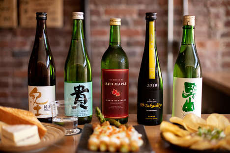 Educationally Authentic Sake Bars
