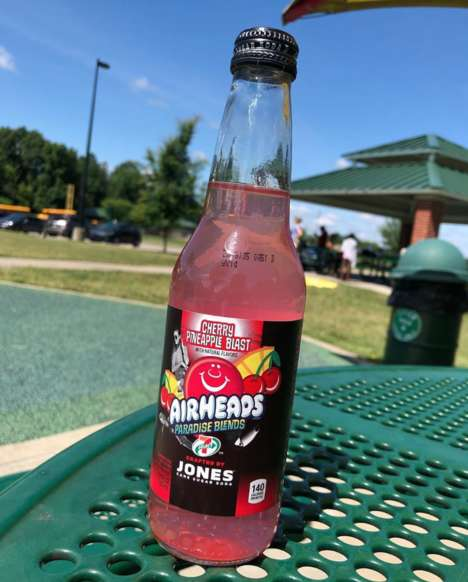 Candy-Flavored Cherry Sodas