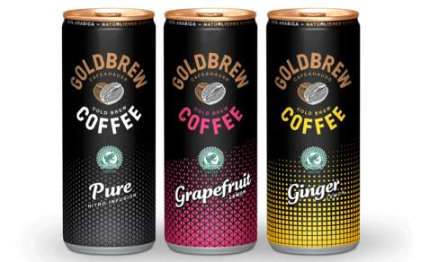 Sparkling Cold Brew Coffees