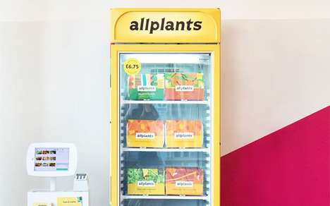 Self-Serve Plant-Based Meal Freezers