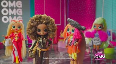 Big Sister Fashion Dolls