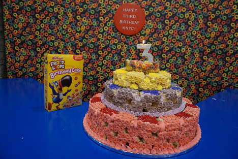 Celebratory Cereal Cakes