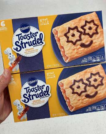 Churro-Flavored Toaster Pastries
