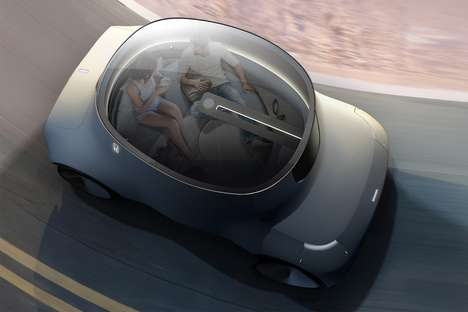 Lounge-Like Autonomous Vehicles