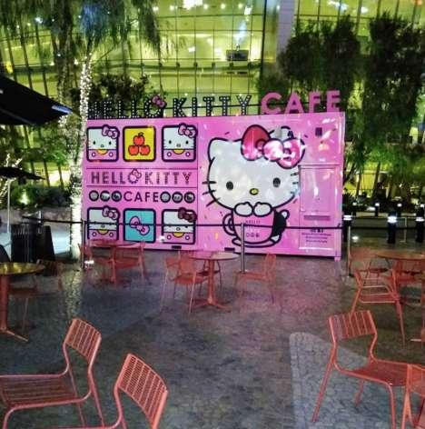 Cartoon Cat Concept Cafes