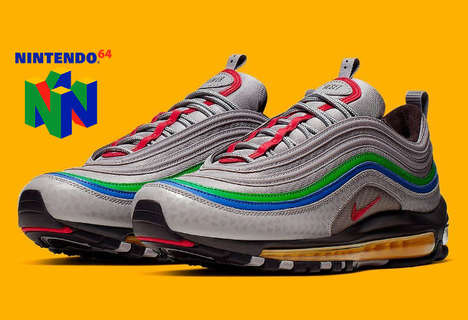 90s Gaming Console Sneakers
