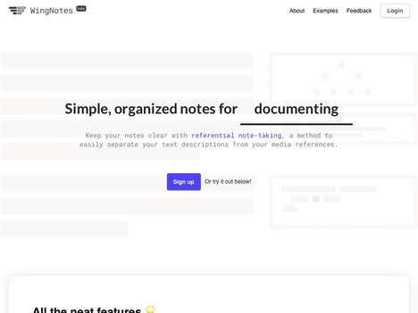 Structured Note-Taking Apps