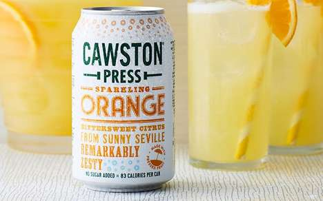 Nostalgia-Inspired Sparkling Drinks