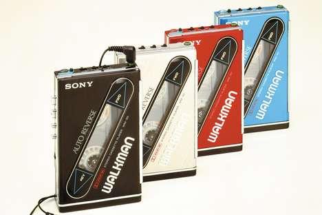 Nostalgia-Driven Walkman Videos
