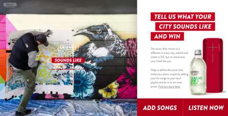 Branded City-Inspired Playlists
