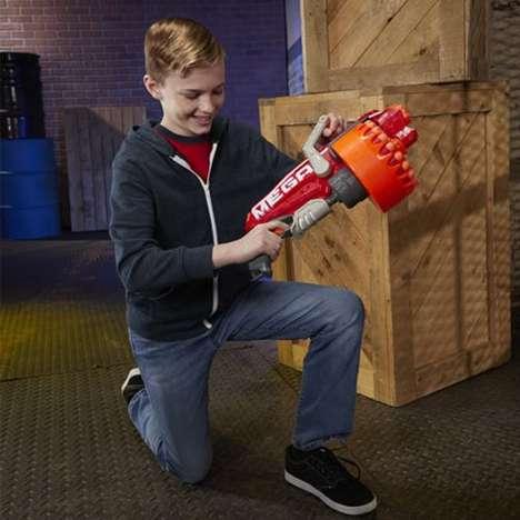 Rapid-Fire Toy Blasters