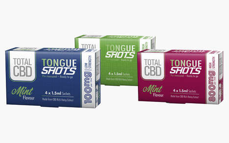 On-the-Go CBD Shots