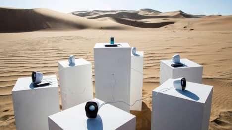 Eternal Musical Desert Installations