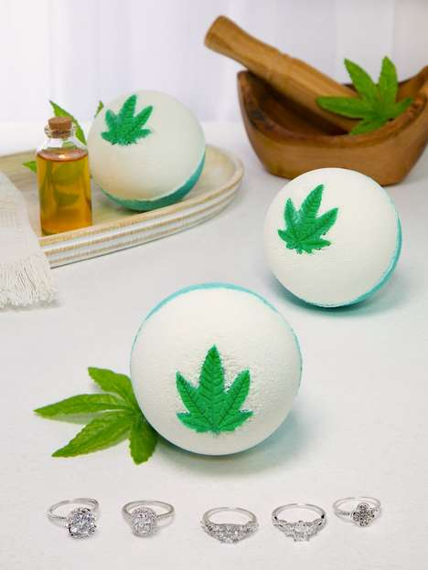 Hemp Oil Bath Bombs