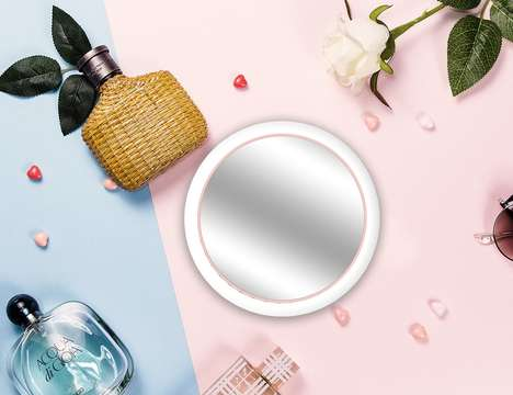Portable Connected Beauty Mirrors