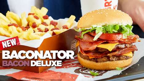 Aussie-Style Bacon Burgers