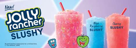 Fruity Candy-Flavored Slushies