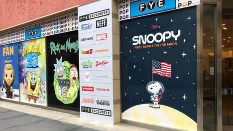 Collectible-Sharing Pop-Up Shops