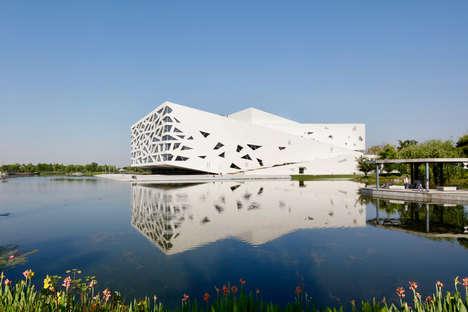 Iceberg-Inspired Opera Buildings